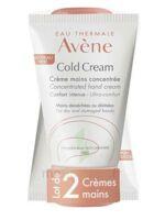Avène Eau Thermale Cold Cream Duo Crème Mains 2x50ml à LIEUSAINT