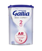Gallia Bebe Expert Ar 2 Lait En Poudre B/800g à LIEUSAINT