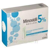 Minoxidil Bailleul 5 % Solution Pour Application Cutanée 3 Fl/60ml à LIEUSAINT