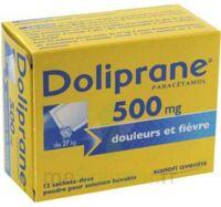 Doliprane 500 Mg Poudre Pour Solution Buvable En Sachet-dose B/12 à LIEUSAINT