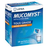 Mucomyst 200 Mg Poudre Pour Solution Buvable En Sachet B/18 à LIEUSAINT