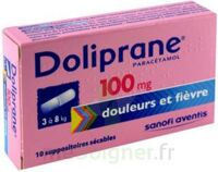 Doliprane 100 Mg Suppositoires Sécables 2plq/5 (10) à LIEUSAINT