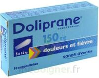 Doliprane 150 Mg Suppositoires 2plq/5 (10) à LIEUSAINT