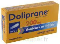 Doliprane 200 Mg Suppositoires 2plq/5 (10) à LIEUSAINT