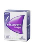 Nicorette Inhaleur 10 Mg Cartouche P Inh Bucc Inhalation Buccale B/42 à LIEUSAINT