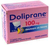 Doliprane 100 Mg Poudre Pour Solution Buvable En Sachet-dose B/12 à LIEUSAINT