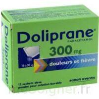Doliprane 300 Mg Poudre Pour Solution Buvable En Sachet-dose B/12 à LIEUSAINT