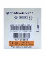 Bd Microlance 3, G25 5/8, 0,5 Mm X 16 Mm, Orange  à LIEUSAINT