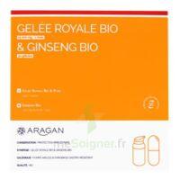 Aragan Gelée Royale & Ginseng Bio 15000 Mg Gelée + Comprimés Fl Pompe Airless/18g + Comprimés à LIEUSAINT