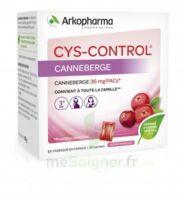 Cys-control 36mg Poudre Orale 20 Sachets/4g à LIEUSAINT