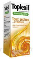 Toplexil 0,33 Mg/ml Sans Sucre Solution Buvable 150ml à LIEUSAINT