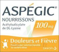 Aspegic Nourrissons 100 Mg, Poudre Pour Solution Buvable En Sachet-dose à LIEUSAINT