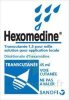 Hexomedine Transcutanee 1,5 Pour Mille, Solution Pour Application Locale à LIEUSAINT