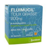 Fluimucil Expectorant Acetylcysteine 200 Mg Sans Sucre, Granulés Pour Solution Buvable En Sachet édulcorés à L'aspartam Et Au Sorbitol à LIEUSAINT