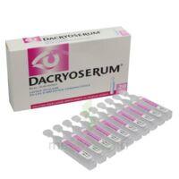 Dacryoserum Solution Pour Lavage Ophtalmique En Récipient Unidose 20unidoses/5ml à LIEUSAINT