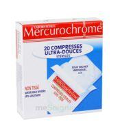 Mercurochrome Compresses Ultra-douces Stériles X 20 à LIEUSAINT