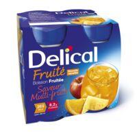 Delical Boisson Fruitee Nutriment Multi Fruits 4bouteilles/200ml à LIEUSAINT