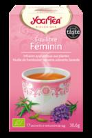 Yogi Tea Tisane Ayurvédique Equilibre Féminin Bio 17 Sachets/1,8g à LIEUSAINT