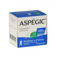 Aspegic 500 Mg, Poudre Pour Solution Buvable En Sachet-dose 30 à LIEUSAINT