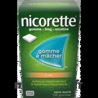 Nicorette 2 Mg Gomme à Mâcher Médicamenteuse Sans Sucre Fruits Plq/30 à LIEUSAINT