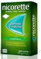 Nicorette 2 Mg Gom à Mâcher Médic Sans Sucre Menthe Fraîche Plq/30gom à LIEUSAINT