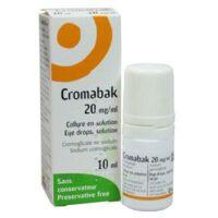 Cromabak 20 Mg/ml, Collyre En Solution à LIEUSAINT