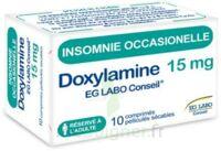 Doxylamine Eg Labo Conseil 15 Mg, Comprimé Pelliculé Sécable à LIEUSAINT