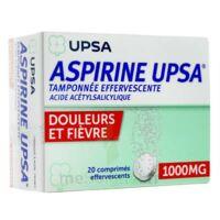 Aspirine Upsa Tamponnee Effervescente 1000 Mg, Comprimé Effervescent à LIEUSAINT