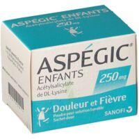 Aspegic Enfants 250, Poudre Pour Solution Buvable En Sachet-dose à LIEUSAINT