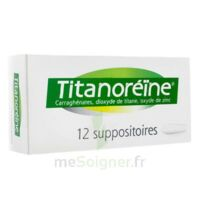 Titanoreine Suppositoires B/12 à LIEUSAINT
