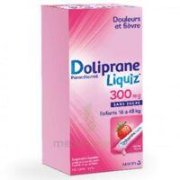 Dolipraneliquiz 300 Mg Suspension Buvable En Sachet Sans Sucre édulcorée Au Maltitol Liquide Et Au Sorbitol B/12 à LIEUSAINT