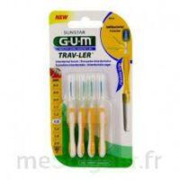 Gum Trav - Ler, 1,3 Mm, Manche Jaune , Blister 4 à LIEUSAINT