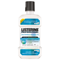 Listerine Professionnel Bain Bouche Traitement Sensibilité 500ml à LIEUSAINT