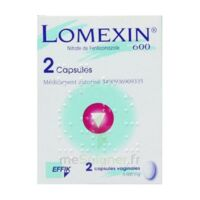 Lomexin 600 Mg Caps Molle Vaginale Plq/2 à LIEUSAINT