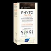 Phytocolor Kit Coloration Permanente 5.7 Châtain Clair Marron à LIEUSAINT