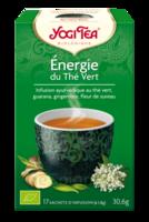 Yogi Tea Thé Energie Du Thé Vert Bio 17 Sachets/1,8g à LIEUSAINT