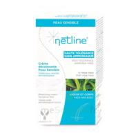 Netline Crème Visage/corps Décolorante Peau Sensible 30+30ml à LIEUSAINT