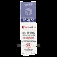 Jonzac Eau Thermale Sublimactive Crème Soin Contour Yeux Lèvres Jeunesse Immédiate 15ml à LIEUSAINT