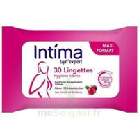 Intima Gyn'expert Lingettes Cranberry Paquet/30 à LIEUSAINT