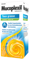 Mucoplexil 5 % Sirop édulcoré à La Saccharine Sodique Sans Sucre Adulte Fl/250ml à LIEUSAINT