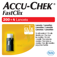 Accu-chek Fastclix Lancettes B/204 à LIEUSAINT