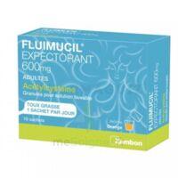 Fluimucil Expectorant Acetylcysteine 600 Mg Glé S Buv Adultes 10sach à LIEUSAINT