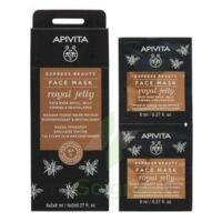 Apivita - Express Beauty Masque Visage Raffermissant & Revitalisant - Gelée Royale  2x8ml à LIEUSAINT