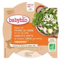 Babybio Assiette Pomme De Terre Haricots Verts Dinde à LIEUSAINT