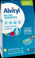 Alvityl Sucette Mal Des Transports B/10 à LIEUSAINT