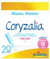 Boiron Coryzalia Solution Buvable Unidose B/20 à LIEUSAINT