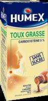 Humex 5 % Solution Buvable Expectorant Sans Sucre Adulte Fl/250ml à LIEUSAINT