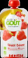 Good Goût Alimentation Infantile Fraise Banane Gourde/120g à LIEUSAINT