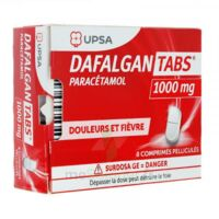 Dafalgantabs 1 G Cpr Pell Plq/8 à LIEUSAINT
