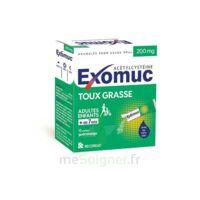Exomuc 200 Mg, Granulés Pour Usage Oral En Sachet 15 Sachets/2g à LIEUSAINT